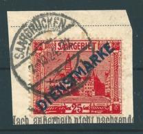 Saar MiNr. D 6   (r11) - Gebraucht