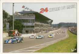 72 . LE MANS . CIRCUIT DES 24 HEURES - Carte Automobile Club De L'Ouest - Le Mans