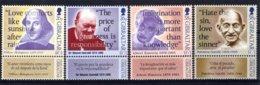 Gibraltar 1998 R MNH Serie Famous Persons Churchill Nobelprice Literature 1953 Einstein 1921 Gandhi Shakespeare Wisdom - Sir Winston Churchill