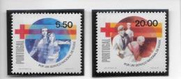 TIMBRES - STAMPS - SELLOS - FRANCOBOLLI - PORTUGAL - 1979 - SERVICE NATIONAL DE SANTÉ - SÉRIE TIMBRES NEUFS - MNH - Neufs