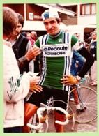 CYCLISME - Robert ALBAN - Dédicace - Equipe LA REDOUTE MOTOBECANE -   Format : 176 X 242 Environ - Ciclismo