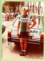 CYCLISME - Michel DEMEYRE - Dédicace - Equipe LA REDOUTE MOTOBECANE -   Format : 176 X 242 Environ - Ciclismo