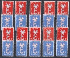 Europa Cept 1958 Belgium 2v (10x) * Mnh (44980) - 1958