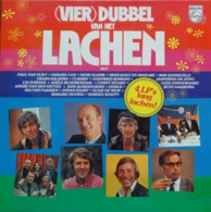 * 4LP Box *  (VIER)DUBBEL VAN HET LACHEN - DIVERSE ARTIESTEN - Humor, Cabaret