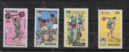 Serie De Nigeria Nº Yvert 446/49 ** DEPORTES (SPORTS) - Nigeria (1961-...)