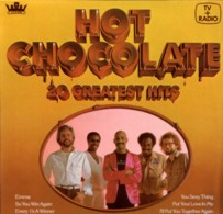 * LP *  HOT CHOCOLATE - 20 GREATEST HITS (Holland 1979) - Disco, Pop