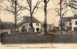 S2883 Cpa 19 Saint Julien Le Vendomois - La Place - Altri Comuni