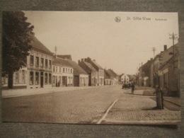 Cpa St. Gillis-Waas Saint-Gilles-Waes (Saint Nicolas) - Kerkstraat - Sint-Gillis-Waas