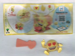 (412) - Kinder Emojy SE 786 + BPZ (comme Image) - Mountables