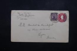 ETATS UNIS - Entier Postal + Complément De Roff Pour La France En 1923 - L 44212 - 1921-40