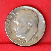USA 1 DIME 1973 D -    KM# 195a - (Nº31695) - Bondsuitgaven