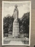 Cpa St. Gillis-Waas Saint-Gilles-Waes (Saint Nicolas) - Standbeeld Van Het H. Hart - Sint-Gillis-Waas
