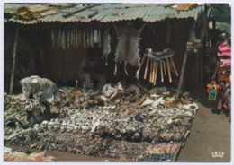 TOGO - LOME -  Marché Be, Grigris & Fétiches. Be Market, Amulets And Fetishes. - Togo
