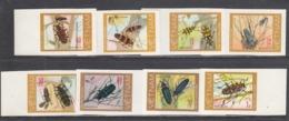 Vietnam 1977 - Insecs: Beetles, Mi-Nr. 910/17, Imperforated, MNH** - Vietnam