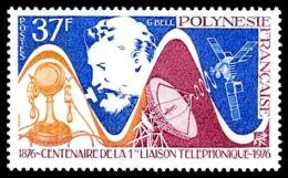 POLYNESIE 1976 - Yv. 110 **   Cote= 13,00 EUR - 1ère Liaison Téléphonique  ..Réf.POL24344 - Neufs