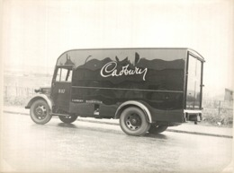 Camioneta Cadbury  +- 22*16 Cm Coches Cars Les Voitures Autos Biler Van - Coches