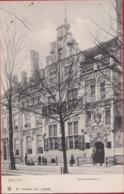 Delft Geanimeerd ZELDZAAM Gemeenlandshuis 1905 Edit. Dr. Trenkler Co. Leipiz - Delft