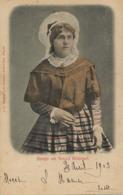 Meisje Uit Noord Braband  Edit Schaefer  1903 Taxée 2 Timbres Marche - Unclassified