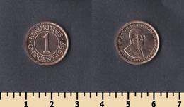 Mauritius 1 Cent 1987 - Mauricio