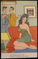Illustration Illustrateur DITO, JITO Ou TITO ? Pin-Up Sur Sofa. Illustrator . Woman On Couch. - Autres Illustrateurs