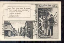 Eindhoven - Rechtestraat - Militair - Mobilisatie - 1915  Militair Verzonden  Langebalk Eindhoven 9 - Eindhoven