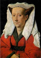 Art - Peinture Religieuse - Jan Van Eyck - Margareta Van Eyck - Carte Neuve - Voir Scans Recto-Verso - Schilderijen, Gebrandschilderd Glas En Beeldjes