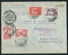 Brasil (S) Circulado En Zeppelin - Covers & Documents