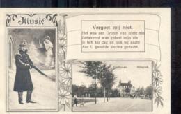 Eindhoven - Villapark - Militair - Mobilisatie - 1915  Militair Verzonden. Langebalk Eindhoven * 9 - Eindhoven