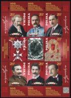 2018 POLAND 100th Anniversary Of Poland Regaining Independence Paderewski Pilsudski MNH** - 1944-.... République