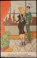 Illustration Illustrateur DITO, JITO Ou TITO ? Femme De Chambre ; Room Maid ; Pin-up - Autres Illustrateurs