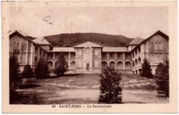 CPA Saint-Pons 34. Le Sanatorium. 1936 - Saint-Pons-de-Thomières