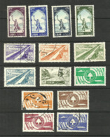 Liban Poste Aérienne N°114 à 117, 136 à 140, 152 à 156 Cote 3.65 Euros - Lebanon