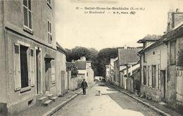 CPA Saint-Nom-la-Breteche - Le Boulevard (103247) - St. Nom La Breteche