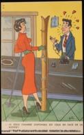 Illustration Illustrateur DITO, JITO Ou TITO ? Réception D'hôtel. Ski. Femme. Hotel Reception. Ski. Women ; Pin-up - Autres Illustrateurs