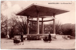 CPA Montpellier 34. Le Kiosque Rose, 1934 - Montpellier