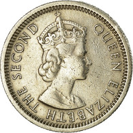 Monnaie, Etats Des Caraibes Orientales, Elizabeth II, 10 Cents, 1956, TTB - East Caribbean States