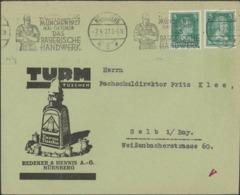 Germany - Turm Tusche Redeker & Hennis. Ausstellung München 1927 Das Bayerische Handwerk. Nürnberg. - Deutschland