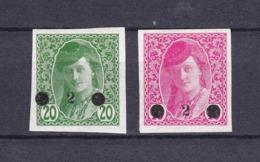 Jugoslawien - Ausgaben F. Bosnien Und Herzegowina - 1919 - Michel Nr. 28/29 - 28 BPP Gepr. - 60 Euro - 1919-1929 Kingdom Of Serbs, Croats And Slovenes