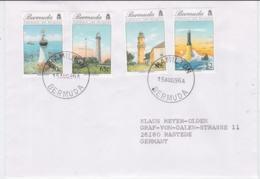 Lighthouse: Bermuda FDC 1996 Lighthouses (G104-30) - Lighthouses