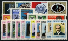 Panamá Nº 468/9, 473, 479, 484/9, 491/501. Año 1971/73 - Panama
