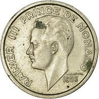 Monaco, Rainier III, 100 Francs, Cent, 1956, TTB, Copper-nickel, KM:134 - Mónaco