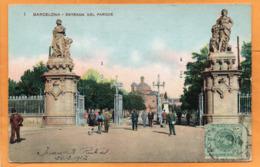 Barcelona Spain 1913 Postcard Mailed - Barcelona