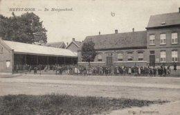 """Heist-Goor """" Topcarte - Zicht Op Meisjes School - Topanimation -  Uitg.  Parmentier - Heist-op-den-Berg"""