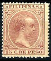 Filipinas Españolas Nº 101 En Nuevo - Philippines