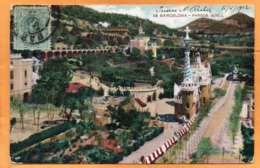Barcelona Spain 1912 Postcard Mailed - Barcelona