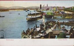 Rotterdam 1906 Oude Hoofd Schip Vessel Haven Zuid-Holland Ansichtkaart Port (In Zeer Goede Staat) - Rotterdam