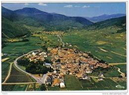 Carte Postale 68. Kientzheim   Sur La Route Des Vin...  Vue D'avion  Trés Beau Plan - France
