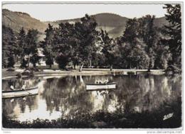Carte Postale 68.  Munster  Canotage Au Parc De La Fecht  Trés Beau Plan - Munster