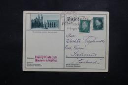 ALLEMAGNE - Entier Postal + Complément De Magdeburg En 1930 - L 44253 - Ganzsachen