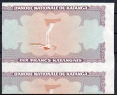BELGIQUE CONGO KATANGA - BILLET - ESSAI NON EMIS - RRR - BX1 - [ 5] Congo Belga